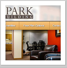 Park Building Logo and Website Design