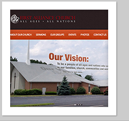 First Alliance Church Website Development